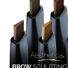 Aesthetica Brow Sculpting Duo Eyebrow Definer and Clear Brow Gel
