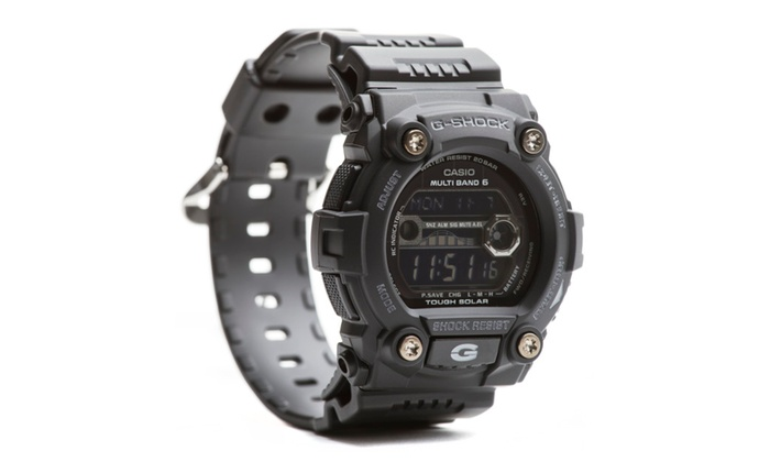 ef99fd9881cc Casio GW7900B-1 G-Shock G-Rescue Men s Shoreman Solar Sport Watch ...