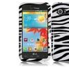 Insten Zebra Design Hard Case Cover For Lg Enact Vs890