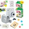 Fujifilm Instax Mini 9 (Smokey White) 15 PCS Deluxe kit bundle