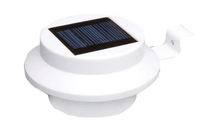 Premium 3 Pack Mountable Automatic Power Bright Solar Panel light