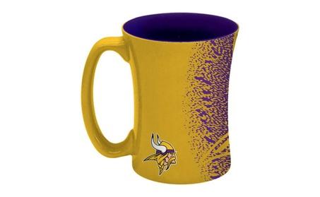 Minnesota Vikings Coffee Mug - 14 oz Mocha 03afbc4d-0d5c-45ee-833a-e8c25ebadb4f
