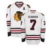 Brent Seabrook Chicago Blackhawks NHL Reebok Men's Premier Away Jersey