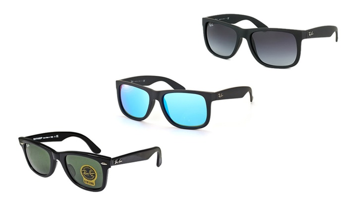 Ray-Ban Original Wayfarer and Classic Justin Sunglasses for Men's