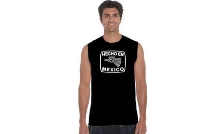 Men's Sleeveless Shirt - Hecho En Mexico 17fef16d-0ffb-4d56-a0b4-6afd7eeff646