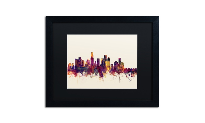 Michael tompsett 39 los angeles california skyline iv for Michaels crafts los angeles