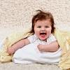 Satin-Trim Velour Baby Blanket