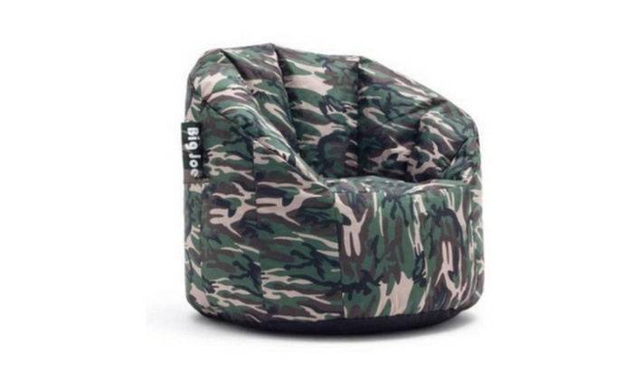 Enjoyable Big Joe Milano Bean Bag Chair Multiple Colors Groupon Machost Co Dining Chair Design Ideas Machostcouk