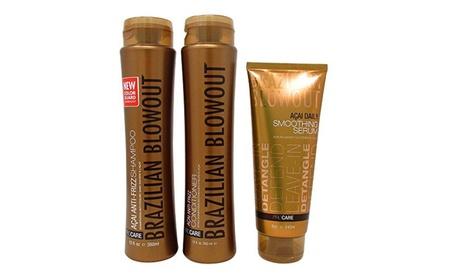Brazilian Blowout Anti Frizz Shampoo Conditioner Duo with Masque