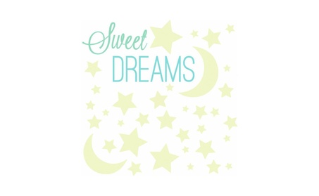 Roommates Sweet Dreams Glow In The Dark Peel And Stick Wall Decals 2a67dfe0-e562-4a06-8ca0-26ce47c4b1fe