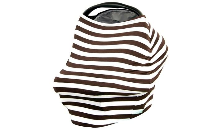 Nursing Breastfeeding Cover Scarf, Multi-Use Infinity Stretchy Shawl