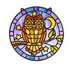 Melissa And Doug 9296 Stained Glass - Owl