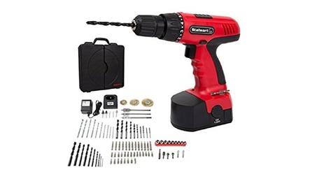 Cordless Drill Set- 89 Piece Kit, 18-Volt Power Tool with Bits, Socket 4f0030a1-e195-4f57-8252-bcf7dafc0565