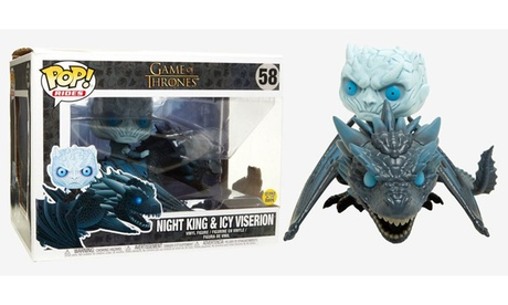 Funko POP! Rides: Game of Thrones Night King on Viserion Dragon 77c7647c-0bc2-4eef-a7df-c6a281e689db