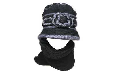 ca1ef31e1eb Shop Groupon Kate Marie  Vicia  Women Beanie and Scarf set