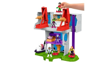 Fisher Price Imaginext® Teen Titans Go!™ Tower DTM81 05613713-8a9d-47e8-91f0-cbc0f4a9bff7