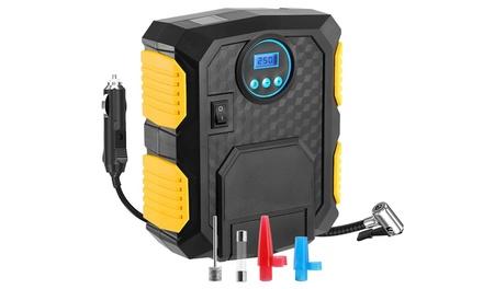 iMounTEK 12V DC Digital Tire Inflator with LCD Display and LED Light