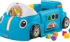 Fisher-Price laughs and learns to climb the car on the smart stage
