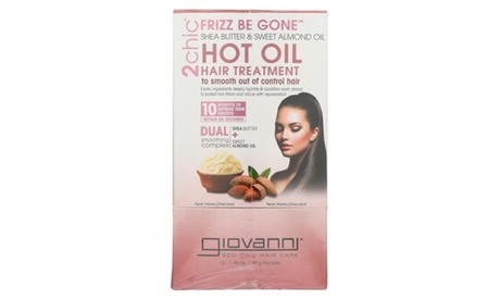 Giovanni Hair Care Products 2068617 1.75 fl oz Shea Butter Almond 2Chic Hot Oil