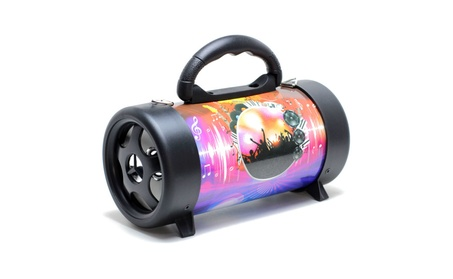 Digital Bazooka Design Bluetooth Wireless Speaker photo