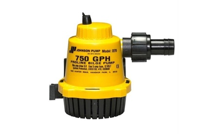 Johnson Pump 22702 Johnson Pump Proline Bilge Pump - 750 GPH photo