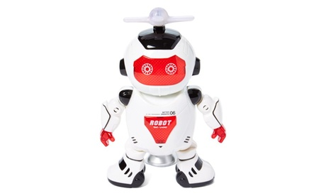 Dancing Robot Figure w/ Colorful Rotating Legs and hands, Music, Dance 8ccce5f3-70f8-499f-9bd6-b698854d7d1d