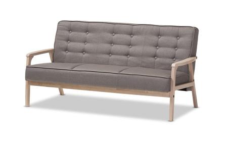 Baxton Studio Timor Mid-Century Gray Sofa d1f6caba-13a2-4afc-8053-7c3e7b8b8739