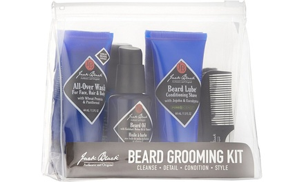 beard grooming kit groupon. Black Bedroom Furniture Sets. Home Design Ideas