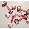 Hello Kitty Cable Tie Cord Organizer Earphone Wrap Winder-2 styles