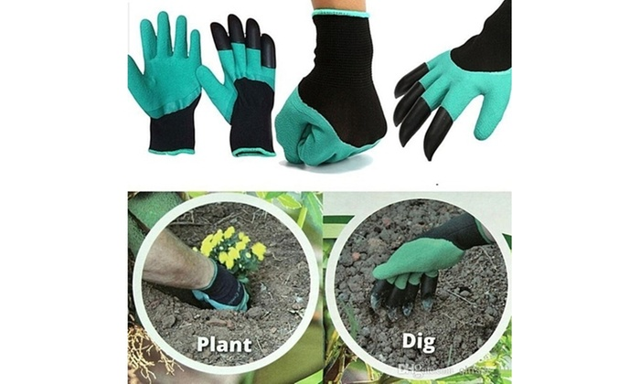 Up to 78 off on claw gardening gloves groupon goods for Gardening 4 less groupon