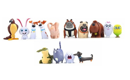 14 PCs The Secret Life of Pets Figure Movie Toy Collection Gift 7904e412-4d9b-4cd6-964c-0f1f9172a1a1