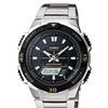 Casio Aqs800Wd-1Ev Tough Solar Ana-Digi Watch