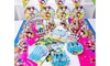 90 Piece Mickey Mouse Birthday Party Set