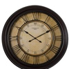 """Studio Design Home 29"""" Traditional Chateau Wall Clock in Dark Brown"""