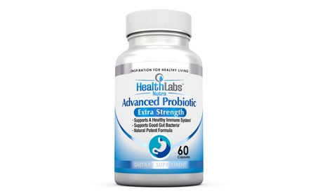 Advanced Probiotic Extra Strength Supplement for Healthy Immune System