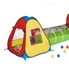 3 in 1 Pop Up Play Tent with Tunnel, Ball Pit for Kids