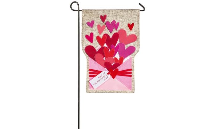 Valentineu0027s Day Garden Flag ...