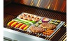 Stainless Steel Dual-Sided Barbecue Cooking Sheet Outdoor Cooking Grill