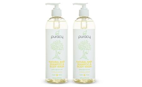 Puracy Natural Baby Shampoo & Body Wash, Tear-Free, 16 oz 995419b3-ec51-42c6-ab30-745d1504d3b6