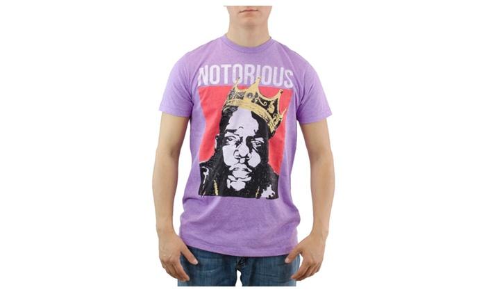 Brooklyn Mint Notorious Purple T-shirt NEW