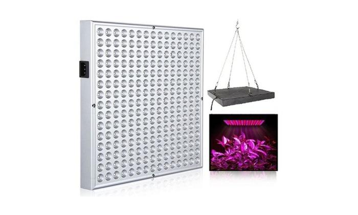 225 LED Hydro Plant Grow Light Panel Full Spectrum Indoor Growing ...