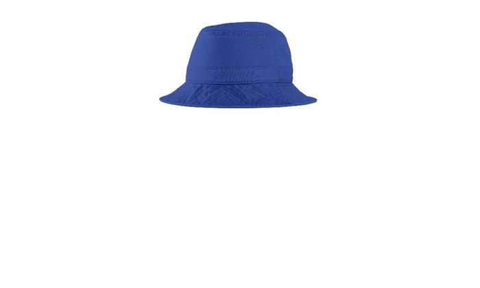 15f0cbdff Port Authority PWSH2 Bucket Hat Royal - Small & Medium