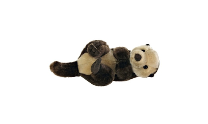 aurora world miyoni sea otter plush groupon