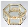 Elegance Glitzy Rose Crystal Jewelry Box