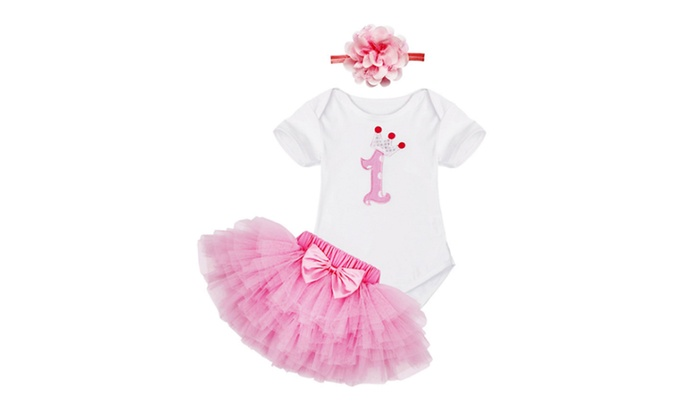 My First Birthday Outfit Set