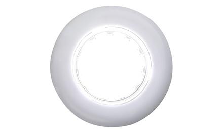 Vivitar Stick-On Circle LED Tap Lights with Adhesive Mount