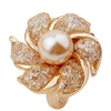 Imitation Pearl Ring for Women Anniversary