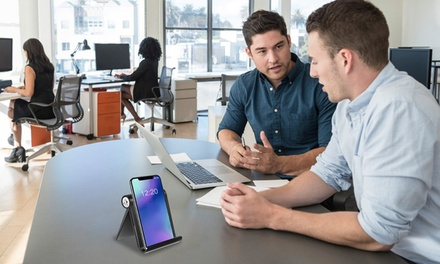 iMounTEK Multi-Angle Portable Stand for Smartphones E-readers and Tablets