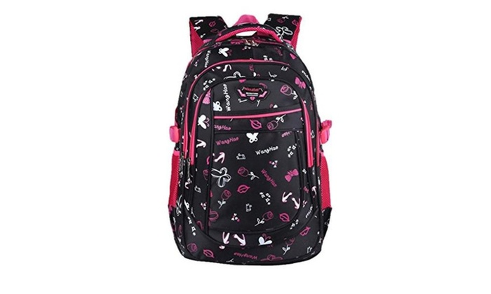 Valteen Girls Colorful Kids Primary School Book Bags Backpacks