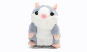 Speaking Hamster Repeats Electric Doll Children Funny Animal Toy